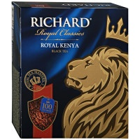 Чай Richard Royal Kenya черный 100х2г