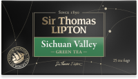Чай зеленый Lipton Sir Thomas Sichuan Valley в пакетиках 2 г 25 шт