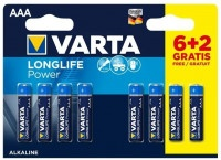 Батарейки Varta LongLife Power ААА 8шт