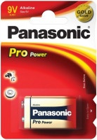 Батарейка Panasonic Pro Power 6LR61 9V щелочная