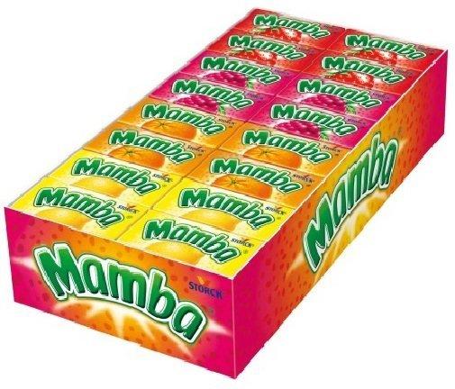 большая конфета мамба
