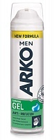 Гель для бритья Arko Anti-Irritation, 200 мл