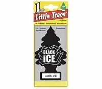 Ароматизатор Car Freshner Little Trees Black Ice