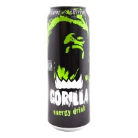 Напиток Gorilla Energy drink энергетический 450мл
