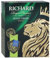 Чай Richard Royal Green зеленый 100х2г
