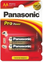 Батарейки Panasonic Pro Power AA LR6 щелочные 2шт
