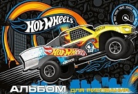Альбом Academy style Hot wheels 120г А4, 20 листов